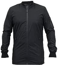 Threadbare Mens MA1 Harrington Long Jacket DMW008PKA