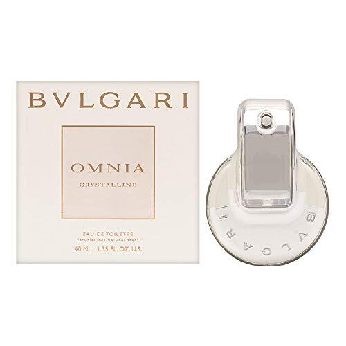 Bvlgari Women's Omnia Crystalline Eau De Toilette Spray,Silver,1.33 oz