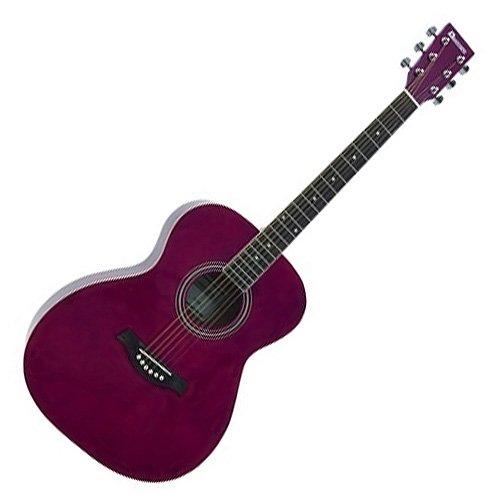 Dimavery 26242003 AW-303 Western Gitarre rot