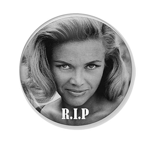 Gifts & Gadgets Co. Honor Blackman R.I.P Miroir de maquillage rond 58 mm
