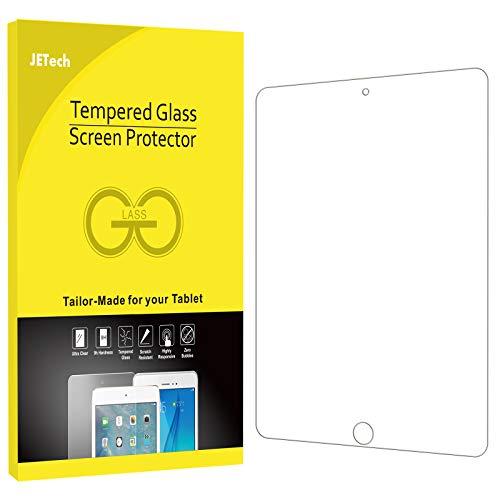 JETech Schutzfolie Kompatibel mit iPad (9,7-Zoll, 2018/2017 Modell, 6./5.Generation), iPad Air 1, iPad Air 2, iPad Pro 9,7-Zoll, Gehärtetem Glas Displayschutzfolie