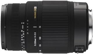 Sigma 70-300mm F/4-5.6 DG OS SLD Super Multi-Layer Coated Telephoto Lens for Canon AF Mount Digital SLR Cameras