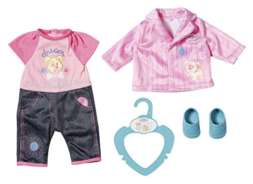 BABY Born 827369 Kleines Kita Outfit 36 cm, bunt
