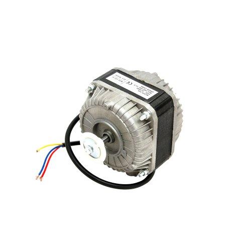 Motor de ventilador para frigorífico: 16Watt motor de ventilador de frigorífico o congelador este motor se puede pie, en la parte superior, cara o de la parte trasera. Agujeros de fijación Tapped, 3delanteros y 3traseros: