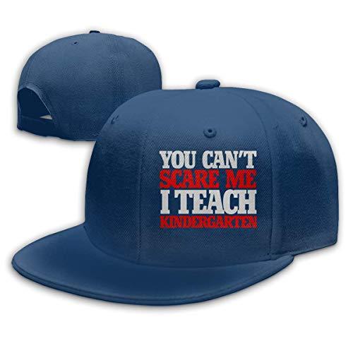 Sie können mich nicht erschrecken, ich unterrichte Kindergarten Männer/Frauen Mode verstellbare Baseballkappe Snapback Hip Hop Hüte