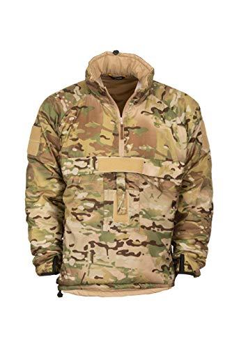 Snugpak Military Mountain Leader 3 Softie Smock, Windproof Water Resistant Jacket, Small, Multicam