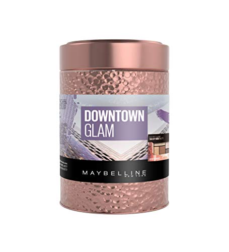 Maybelline New York Downtown Glam Giftset (Mascara, Strobing Liquid, Eyeshadow Pallete)