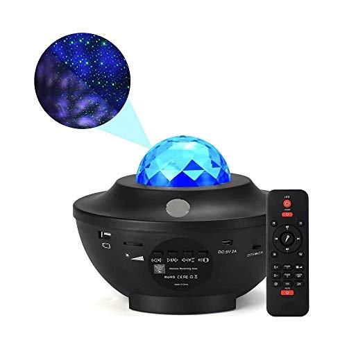 TTCPUYSA Star Projector Light - Music Starry Water Wave Proyector de luz...
