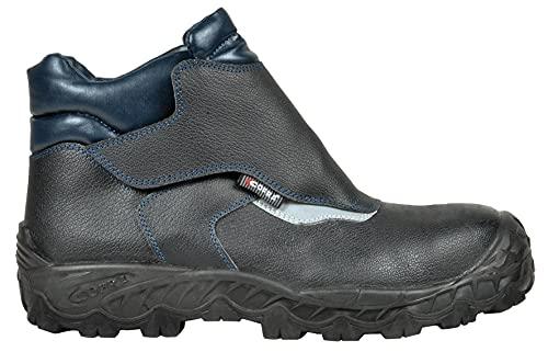 COFRA Cofra FW240-000.W39 NEW VIGO S3 SRC Sicherheitsstiefel, Schwarz/Blau, Größe 39