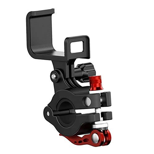 YIAI Soporte de bicicleta para mando a distancia de montaje fijo para ciclismo al aire libre durable portátil abrazadera de monitor dron accesorios clip de bicicleta para DJI Mavic 2