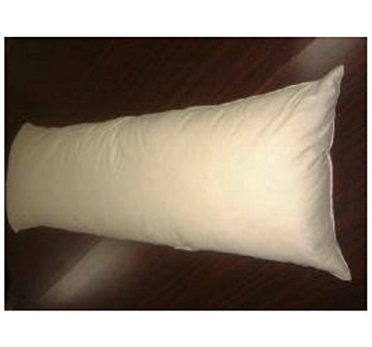 地元衣類ディンカルビル国産 オリジナル大判羽根 ロング枕 羽毛枕 抱き枕カバー付き 水鳥フェザー100% 50x140cm