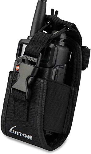 LUITON 3 in1 Multifunktions-Radiohalter Holsteretasche Tasche für GPS Kenwood Yaesu Icom Motorola Baofeng UV5R UV82 TYT UV5RA HYT 888S Retevis H777 F8HP Funksprechgerät Walkie Talkies MSC 20C