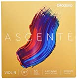 Best Violin Strings - D'Addario Ascenté Violin String Set, 4/4 Scale, Medium Review