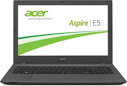 Acer Aspire E 15 (E5-573-54QC) 39,6 cm (15,6 Zoll Full HD) Laptop (Intel Core i5-5257U, 8GB RAM, 1000GB SSHD, Intel Iris Grafik 6100, Win 10 Home) schwarz