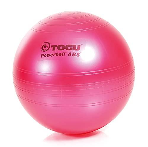 TOGU Powerball ABS - Pelota de Gimnasia (65 cm), Color Rosa