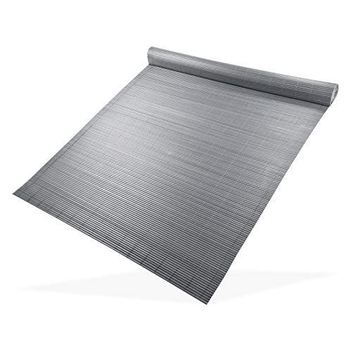 DEMA Sichtschutzmatte 100x500 grau