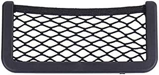 Small Car Seat Side Back Storage Net Bag String Bag Mesh Pocket Organizer Kinggarten-SG