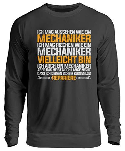 puissant Chandail unisexe Chorchester pour tous les mécaniciens et amateurs de mécaniciens – Noir – Grand