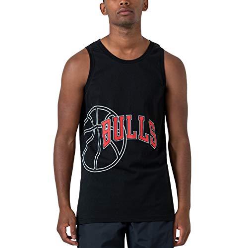 New Era NBA Team Graphic Canotta Nero XS