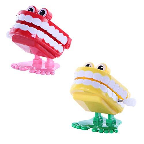 Blendendes Spielzeug Wind up Walking Plappern Klappern Zähne Spielzeug für Kinder Kinder Bildung Werkzeuge