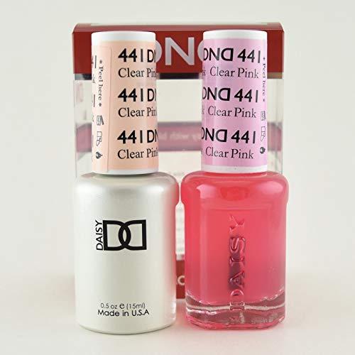 DNDDuo Gel (Gel & Matching Polish) Spring Set 441 - Clear Pink