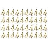 TOOGOO 40 Bricolage Cadre en Bois Artiste Chevalet en Bois Table de Mariage Support de Carte PréSentoir DéCoration de FêTe 15X8 Cm Chevalet