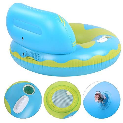Suchinm Aufblasbares Wassersofa, 1 Stück umweltfreundliches PVC aufblasbares Schwimmreihen-Wassersofa Strand-Schwimmbad-Liegestuhl für Urlaubspool-Party