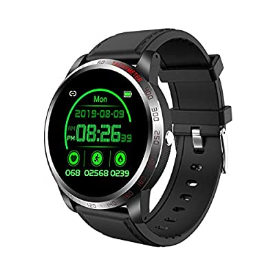 OYG Smart Watch, Fitness Tracker Health Watch with Heart Rate Monitor Blood Oxygen SpO2 Monitor, Waterproof Activity Tracker Fitness Watch with Sport Mode Sleep Monitor (Black)