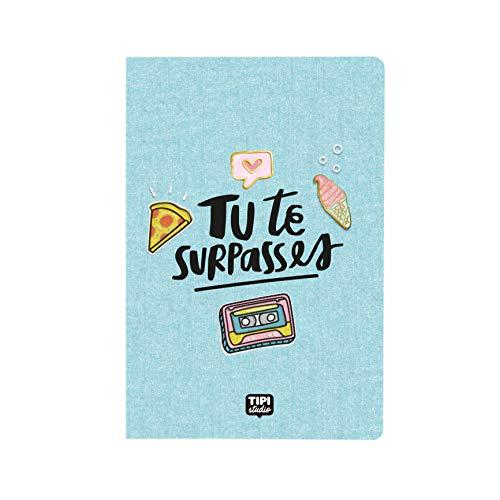 Cuaderno A5 – Tu te superpasses