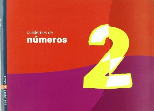Cuaderno 2 de numeros (Infantil)
