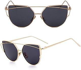 Amazon.es: gafas de sol de espejo - TIANLIANG04 / Mujer: Ropa
