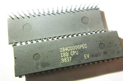 Z84C0006PEC Z80 CPU DIP-40 Circuito integrato IC unità di elaborazione centrale