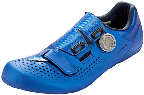 SHIMANO SH-RC500SB Men's Road Cycling Shoes, Blue - Azul, 44