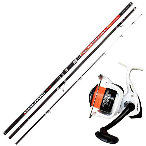 Kit Surfcasting Canna Colmic Mezcal 420 + Mulinello Evo Supreme CX 8000