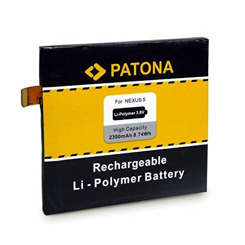 PATONA Batteria BL-T9 compatibile con LG Nexus 5 D820 D821