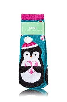 Bath and Body Works Penguin Design Mint To Keep You Warm Shea-Infused Lounge Socks