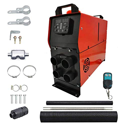 Review Of SMASAMDE Diesel Parking Heater 8KW Diesel Air Heater 12V Diesel Heater 5000W with LCD Swit...