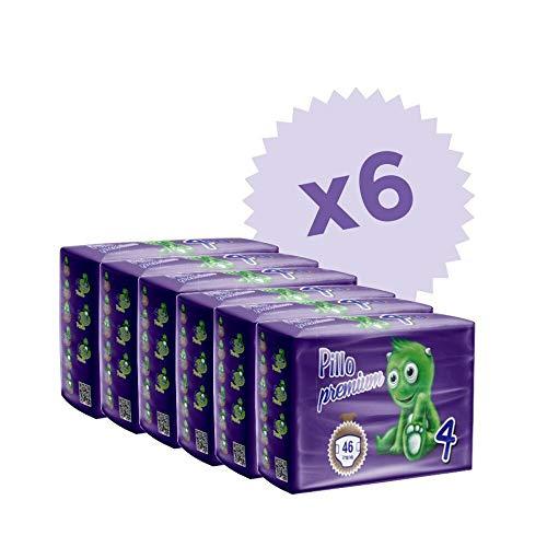 Pannolino Pillo Premium Maxi Taglia 4 (7/18kg) 6 cf da 46 pannolini (TOTALE 276 PANNOLINI!!)