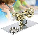 Kit Motore Stirling, Modello di Motore Stirling in Miniatura Generatore di Corrente Fisica del Motore Laboratorio di Vapore Regali Giocattolo educativo per Bambini e Adulti