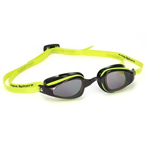 MP Michael Phelps K180 - Gafas de sol (efecto ahumado), color amarillo y negro