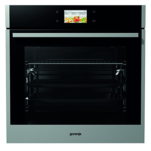 Gorenje BO 799 S50X Backofen Elektro / A+ / Backmuffe Homemade 75 L / Edelstahl / AquaClean / TFT-Farbdisplay / Anti-Fingerprint / Homechef
