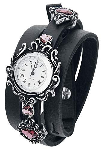 Alchemy Gothic AW24 Armbanduhr, Edelstahl, silberfarben