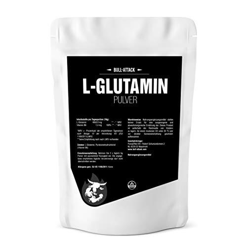 1kg L-GLUTAMINA en polvo - aminoácidos libres - optimizado con vitamina B6