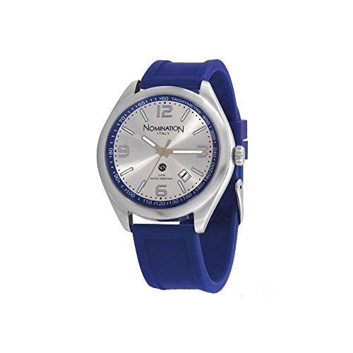 Nomination Damen Analog Quarz Uhr mit Silikon Armband 077101/017