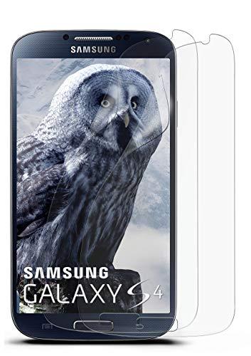 MoEx® Anti Reflex Displayschutzfolie passend für Samsung Galaxy S4 | Schutzfolie Matt Display Folie gegen Reflexionen, flexibel, 2X Stück