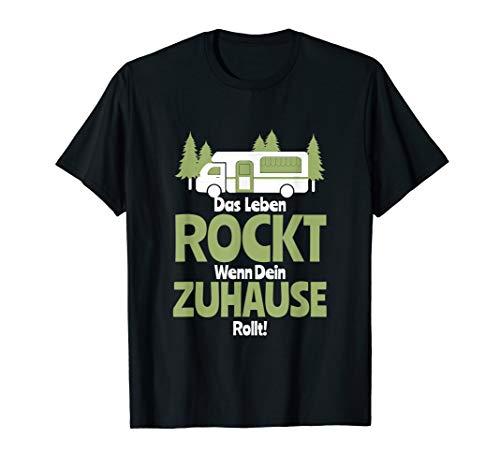 Camper Campen Wohnmobil Wohnwagen & Campingbus Geschenk T-Shirt