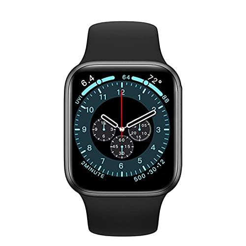 DW35 reloj inteligente 2021 1.75 pulgadas pantalla cuadrada 44 MM Bluetooth llamada señoras reloj temperatura corporal aplicable a Android IOS (F)