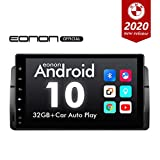 2020 Newest Android 10 Car Stereo Double Din Car Radio, Android Head Unit, Eonon Car GPS Navigation Applicable to 3 Series 1999-2004(E46) Support Android Auto Built-in Apple Carplay/DSP-9 Inch-GA9450B