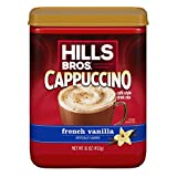 Hills Bros Cappuccino, French Vanilla, 16 Ounce (Pack...