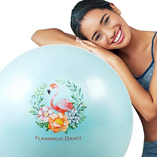 XGYUII Gym Ball Yoga Ball-Übungs-Kugel-Antistoß-Stabilität Swiss Ball Fitness Pilates Gleichgewicht Schwangerschaft Umstandsentbindungs Home Gym Grün,65CM